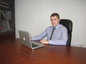 Молодой успешный копирайтер Артур Грант